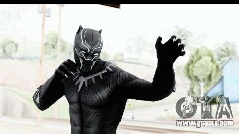 Marvel Heroes - Black Phanter (Civil War) for GTA San Andreas