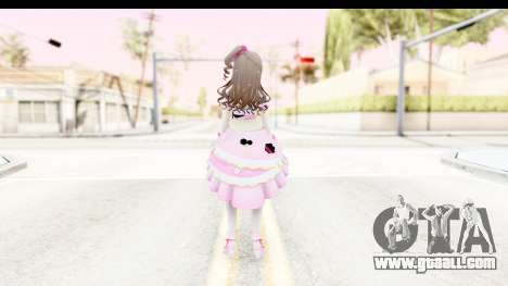 CGSS - Uzuki Peacefull Dance Rilaneko for GTA San Andreas third screenshot