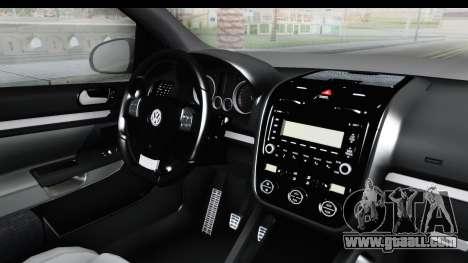 Volkswagen Golf 5 Stock for GTA San Andreas back left view