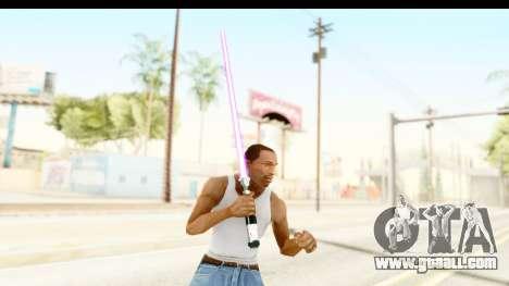 Sword Art Online II - Kiritos Saber for GTA San Andreas third screenshot