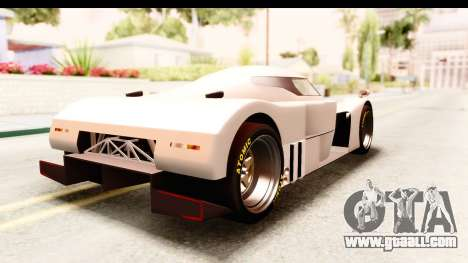 GTA 5 Annis RE-7B for GTA San Andreas left view