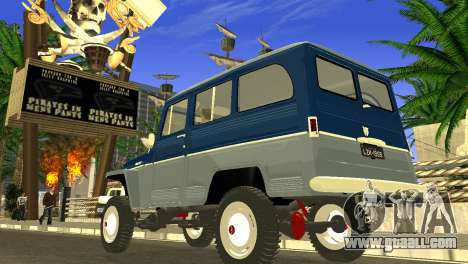 Jeep Station Wagon 1959 for GTA San Andreas left view