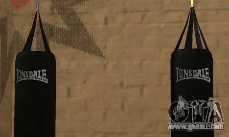 LonsDale punching bag for GTA San Andreas forth screenshot