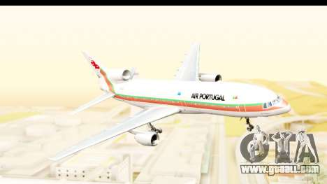 Lockheed L-1011-100 TriStar TAP Portugal for GTA San Andreas back left view
