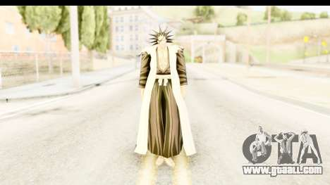Bleach - Zaraki for GTA San Andreas second screenshot