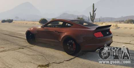 GTA 5 Ford Mustang GT Premium HPE750 Boss left side view