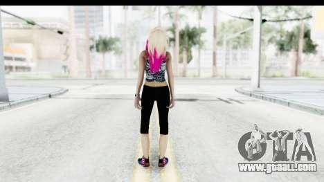Summer Ombre Hair for GTA San Andreas third screenshot