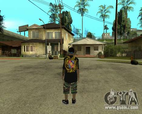 New Armenian Skin for GTA San Andreas second screenshot