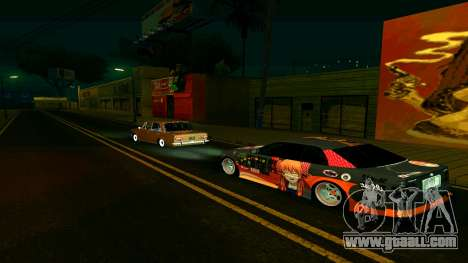 Toyota Chaser for GTA San Andreas back left view