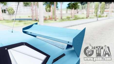 GTA 5 Obey Omnis for GTA San Andreas inner view