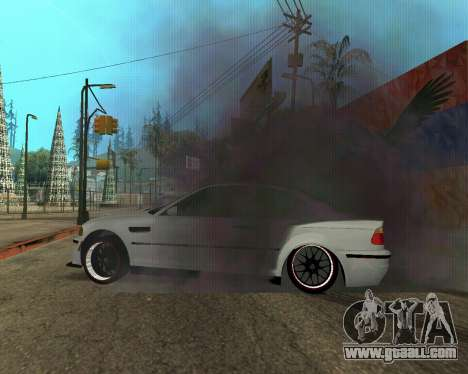 BMW M3 Armenian for GTA San Andreas wheels
