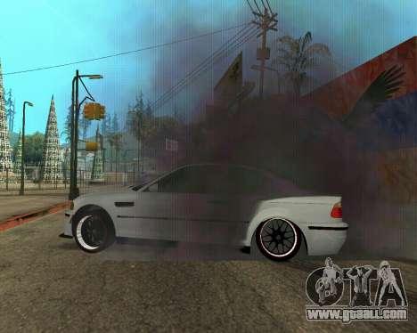 BMW M3 Armenian for GTA San Andreas wheels