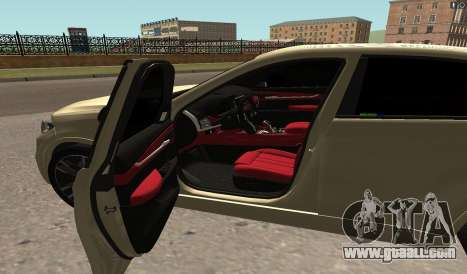 BMW X6M Bulkin for GTA San Andreas left view