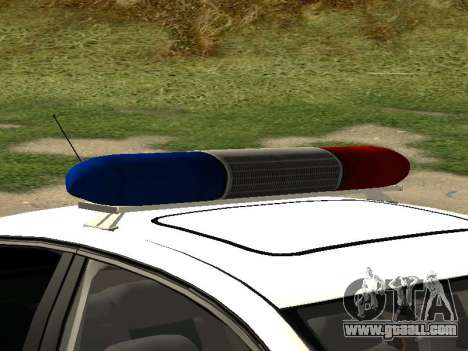 Volkswagen Passat ДПС for GTA San Andreas right view