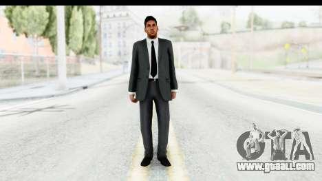 Messi Formal v2 for GTA San Andreas second screenshot