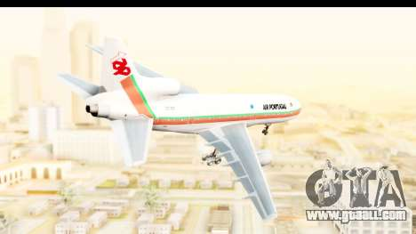 Lockheed L-1011-100 TriStar TAP Portugal for GTA San Andreas left view