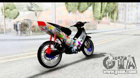 Honda Supra X 2004 Road Race for GTA San Andreas left view