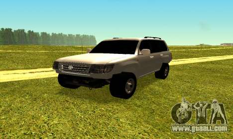Toyota Land Cruiser 105V for GTA San Andreas right view