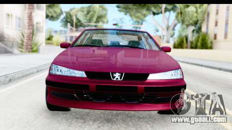 Peugeot 406 Light Tuning for GTA San Andreas
