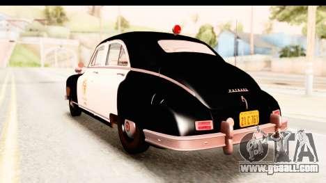 Packard Standart Eight 1948 Touring Sedan LAPD for GTA San Andreas left view