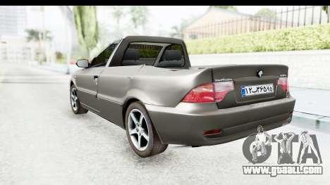 Ikco Samand Pickup v1 for GTA San Andreas left view