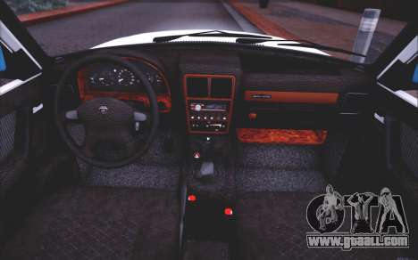 GAZ 3110 Runoff Quality for GTA San Andreas upper view