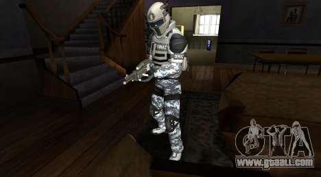 Elite GENSEC PAYDAY 2 SWAT Unit for GTA San Andreas second screenshot