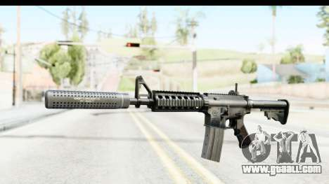 AR-15 Silenced for GTA San Andreas