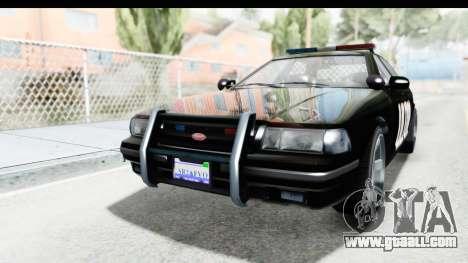 Vapid ULTOR Police Cruiser for GTA San Andreas
