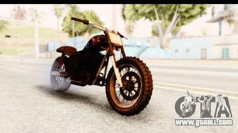 GTA 5 Western Cliffhanger Custom v2 IVF for GTA San Andreas right view