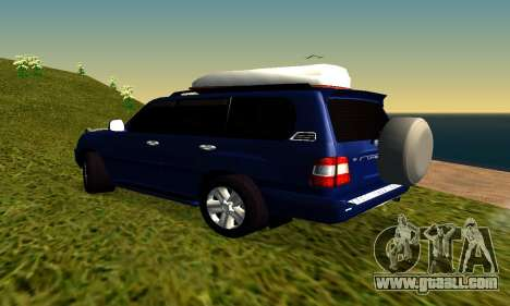 Toyota Land Cruiser 100vx2 for GTA San Andreas right view