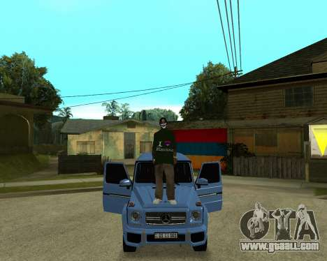 Armenian Skin for GTA San Andreas sixth screenshot