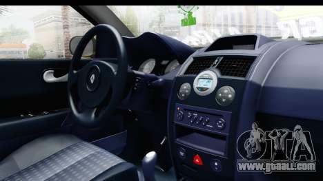 Renault Megane for GTA San Andreas inner view