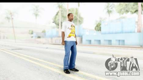 T-Shirt Pokemon Go Pikachu for GTA San Andreas third screenshot
