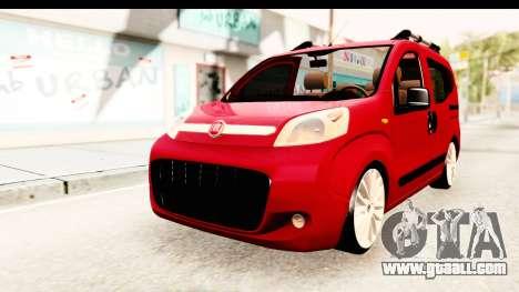 Fiat Fiorino v2 for GTA San Andreas right view