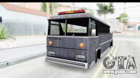 Towbus for GTA San Andreas