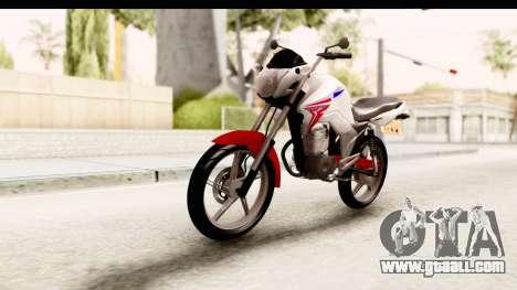 Honda CG150 for GTA San Andreas