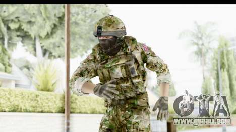 Global Warfare UK for GTA San Andreas