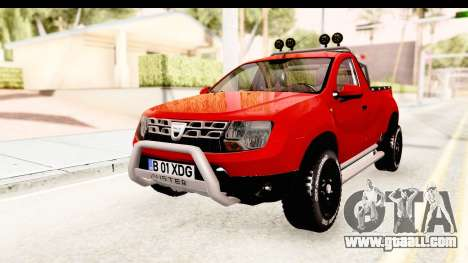 Dacia Duster Pickup for GTA San Andreas