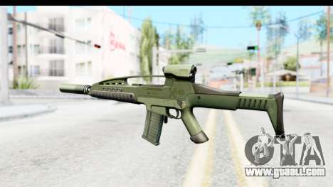 H&K XM8 Silenced for GTA San Andreas second screenshot