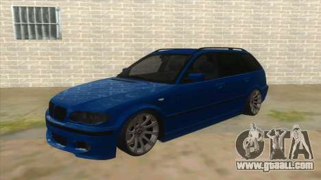 BMW E46 Touring Facelift for GTA San Andreas