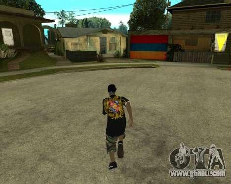 New Armenian Skin for GTA San Andreas third screenshot