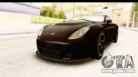 GTA 5 Dewbauchee Rapid GT SA Style for GTA San Andreas right view