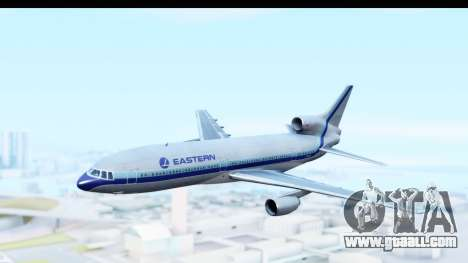 Lockheed L-1011-100 TriStar Eastern Airlines for GTA San Andreas