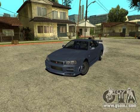 Nissan Skyline Armenia for GTA San Andreas