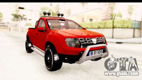 Dacia Duster Pickup for GTA San Andreas right view
