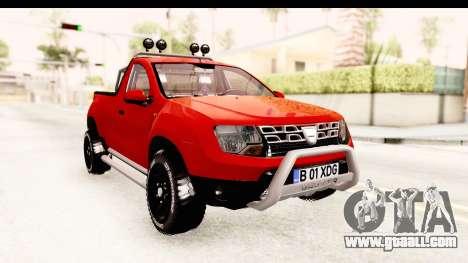 Dacia Duster Pickup for GTA San Andreas right view