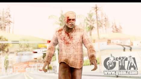 Left 4 Dead 2 - Zombie Shirt 2 for GTA San Andreas