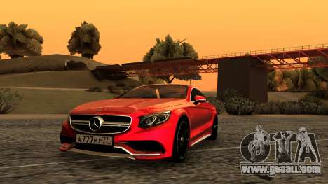 Mercedes-Benz S63 Coupe for GTA San Andreas