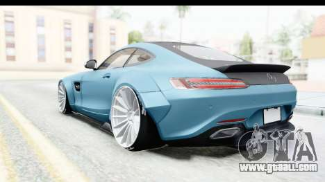 Mercedes-Benz AMG GT Prior Design for GTA San Andreas back left view